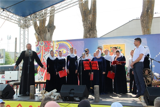 Тюменский православный хор имени старца Николая Гурьянова посетил Цивильск с концертом