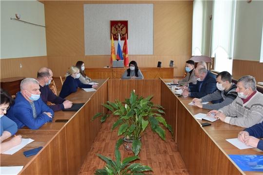 В администрации Алатырского района состоялось первое совещание с главами сельских поселений в новом году