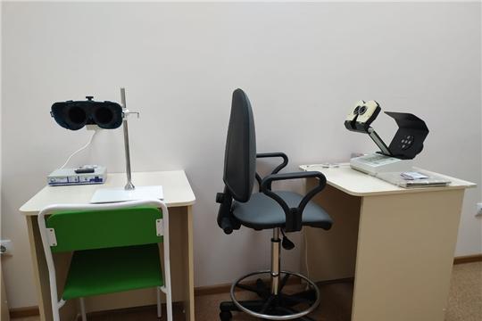 В Алатырскую ЦРБ поступило новое офтальмологическое оборудование