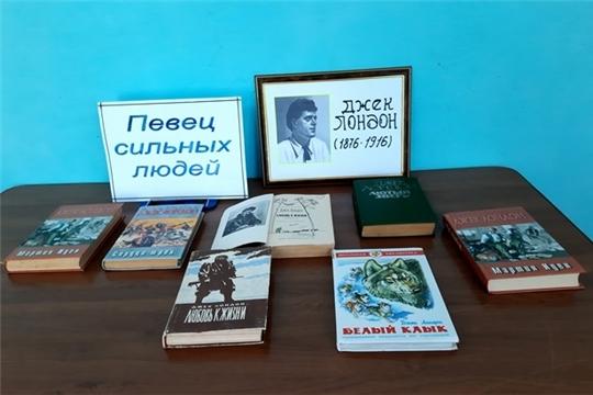 Книжная выставка «Певец сильных людей» в Алтышевской сельской библиотеке