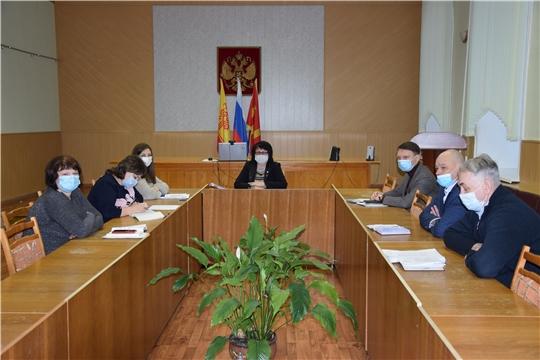 Состоялось очередное заседание оперативного штаба по предупреждению распространения новой коронавирусной инфекции на территории Алатырского района