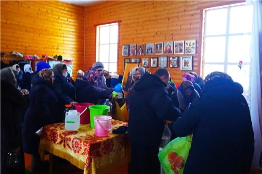 Праздник Крещения Господня встретили в сельских поселениях Алатырского района
