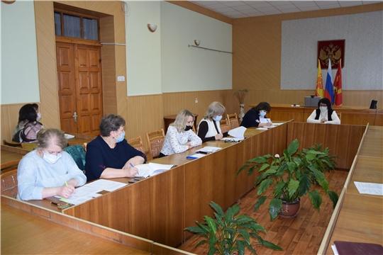 Заседание межведомственной комиссии по вопросам повышения доходов консолидированного бюджета Алатырского района