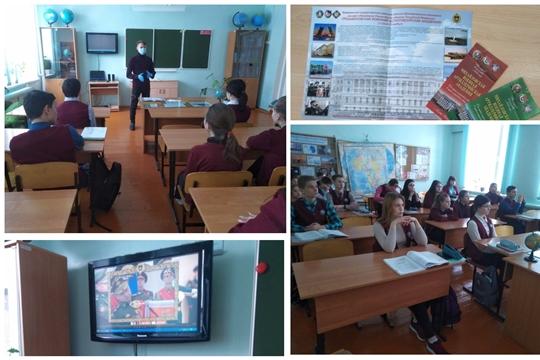 Курсант Михайловской военной артиллерийской академии г. Санкт – Петербурга встретился с учащимися родной школы