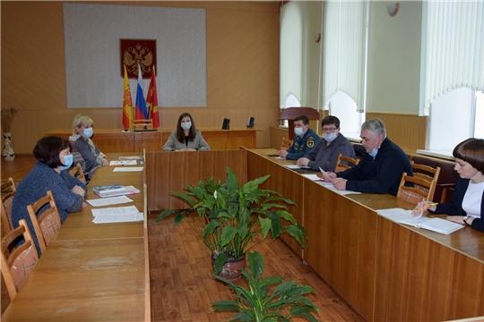 В Алатырском районе состоялось заседание комиссии по делам несовершеннолетних и защите их прав администрации Алатырского района
