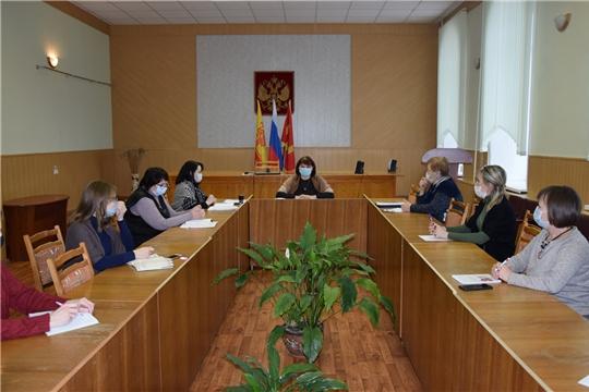 В администрации Алатырского района состоялось совещание работников учреждений культуры
