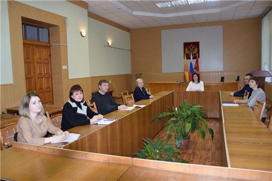 Состоялось очередное заседание Алатырской районной ТИК