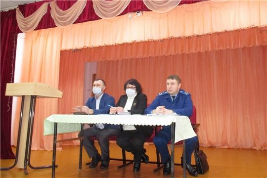 В Сойгинском и Новоайбесинском сельских поселениях проведен выездной день профилактики правонарушений