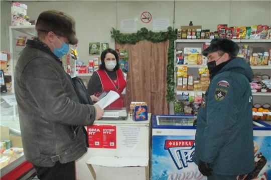 В Алатырском районе проходят проверки торговых объектов