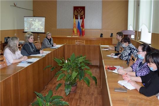 Совещание с заместителями директоров по учебно - воспитательной работе прошло в Алатырском районе
