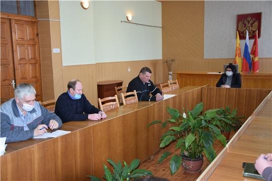 Состоялось рабочее совещание по подготовке к командно-штабной тренировке