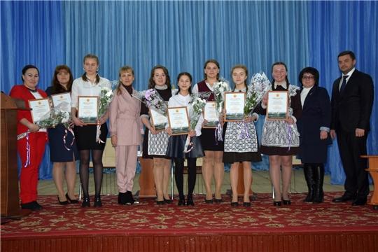 Лучшим представителям молодежи Алатырского района вручили заслуженные награды