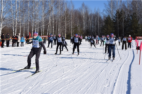 В Алатырском районе прошёл муниципальный этап «Лыжня России-2021»