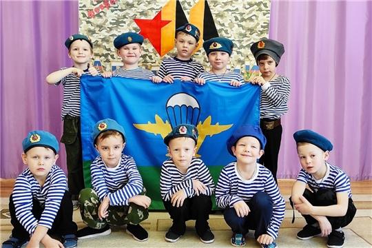 День защитника Отечества в Чуварлейском детском саду «Колокольчик»