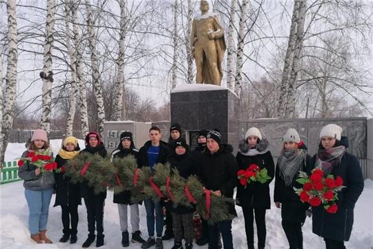 Всероссийская акция «Защитим память героев» в Алатырском районе