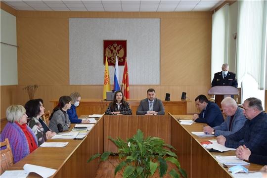 В Алатырском районе состоялось очередное заседание Собрание депутатов