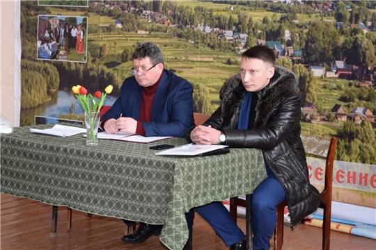 В Алатырском районе начались отчетные собрания глав сельских поселений перед населением