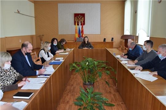 Заседание Межведомственной комиссии по стимулированию повышения доходов консолидированного бюджета администрации Алатырского района