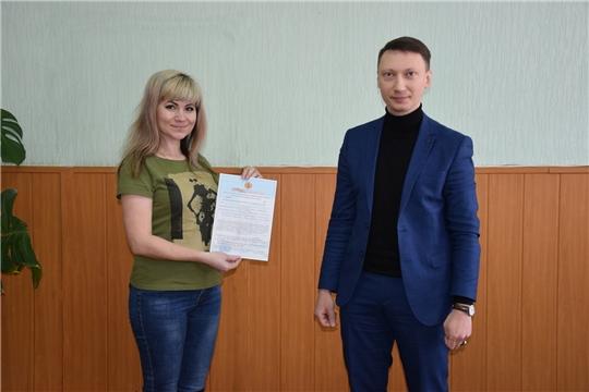 Вручение сертификатов молодым семьям на приобретение (строительство) жилья