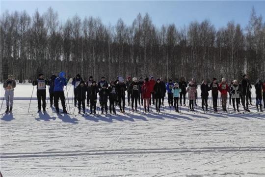 Лыжники Алатырского района состязались за подписку газеты «Алатырские вести»