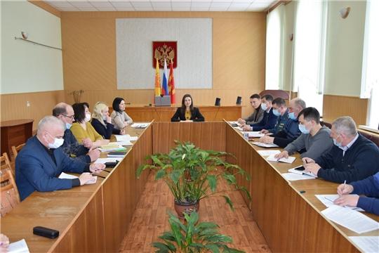 В администрации Алатырского района состоялось очередное совещание с главами сельских поселений