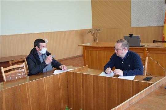 И.о.министр природных ресурсов и экологии Чувашской Республики Александр Воробьев посетил Алатырский район