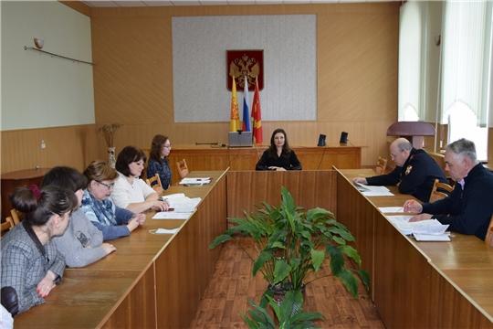 Заседание антитеррористической комиссии Алатырского района