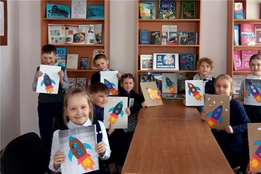 Мероприятия, посвященные Дню космонавтики в библиотеках района
