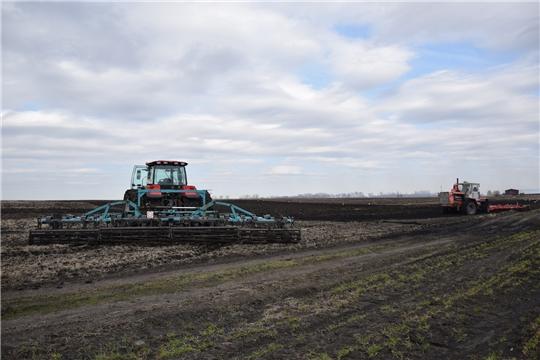 В Алатырском районе начались весенне-полевые работы
