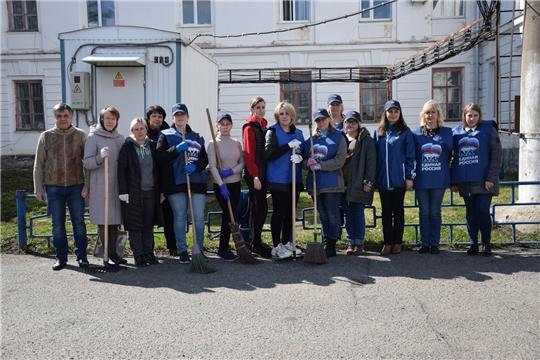 В Алатырском районе стартовал экологический субботник «Зеленая весна – 2021»