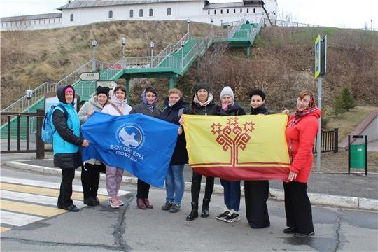 Волонтеры Алатырского района посетили Свияжск