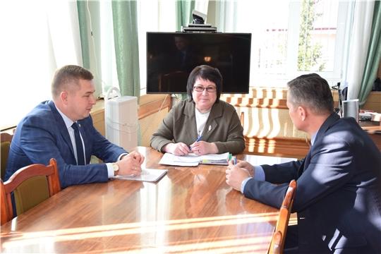 Министр здравоохранения Чувашии Владимир Степанов посетил Алатырский район