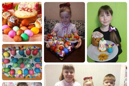 В Октябрьском СДК в честь светлого праздника Пасхи дети поделились своими рецептами