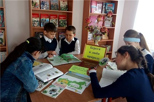 Экологический час «Берегите и любите природу в Сойгинской библиотеке
