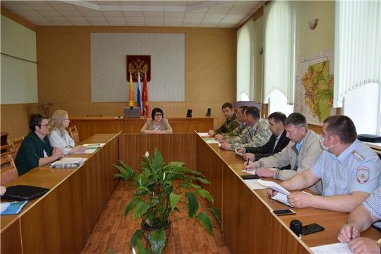 На территории района прошли командно-штабные учения