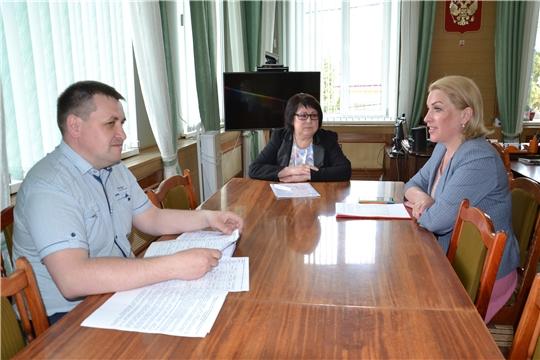 Руководитель Госслужбы Чувашии по конкурентной политике и тарифам Надежда Колебанова с рабочим визитом посетила Алатырский район