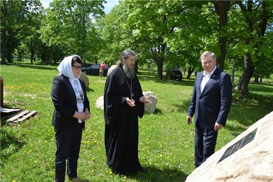 Депутат Госдумы РФ Николай Малов посетил посёлок Первомайский Алатырского района