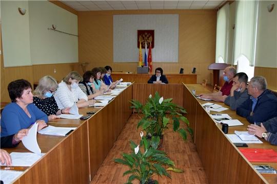 Расширенное заседание Межведомственной комиссии по стимулированию повышения доходов консолидированного бюджета Алатырского района