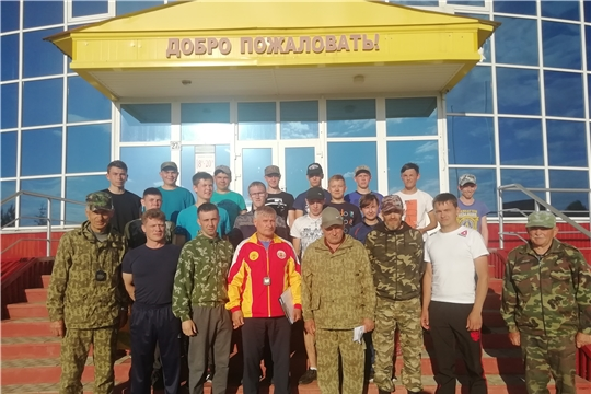 В Алатырском районе прошел прием испытаний ГТО