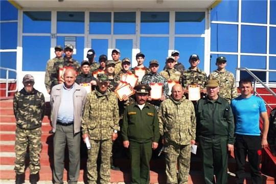 В Алатырском районе завершились учебные сборы