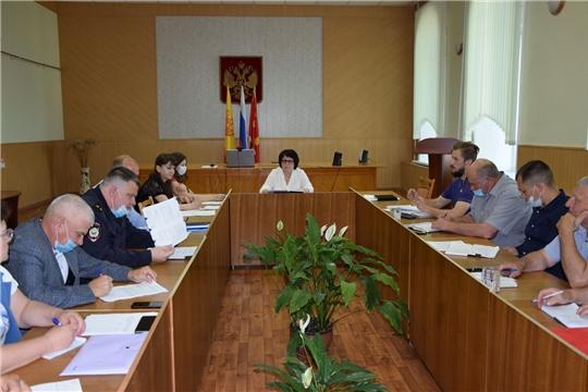 Состоялось организационное заседание рабочей группы по подготовке к районному празднику Песни, Труда и Спорта «Акатуй-2021»