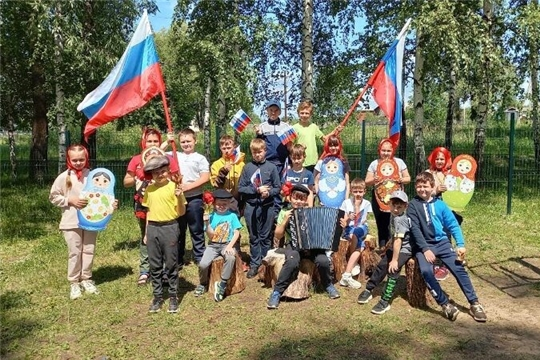 Беседа-игра «Русь, Россия, Родина моя…» проведена в Октябрьском СДК