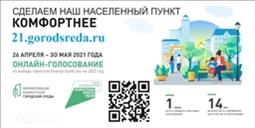 Онлайн-голосование по объектам благоустройства