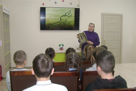 В Аликовской детской  библиотеке проведен литературный час «Мир сказок Салтыкова-Щедрина»