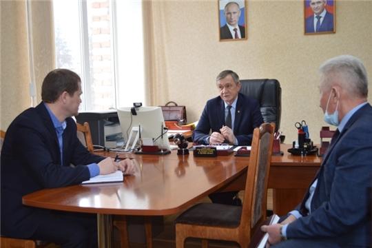 Уполномоченный по правам человека в Чувашской Республике посетил с рабочим визитом Аликовский район