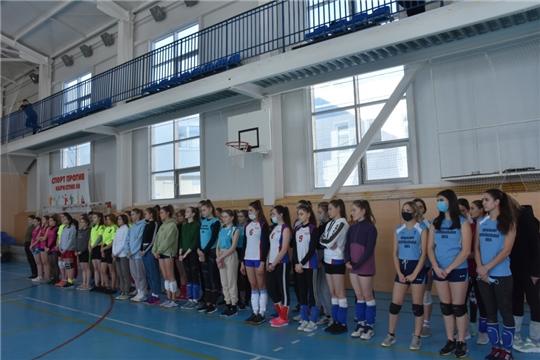 Первенство республики по волейболу среди юношей и девушек 2003-2004