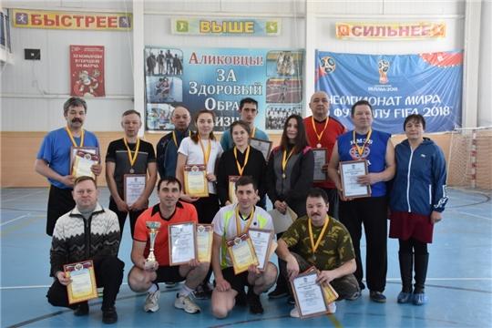 Турнир по волейболу между муниципальными служащими Аликовского района