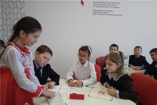В рамках Дня родного языка в Чувашско-Сорминской школе прошел мастер-класс «Авалхи эрешсем»