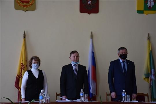 Состоялось VI очередное заседание Собрания депутатов Аликовского района VII созыва