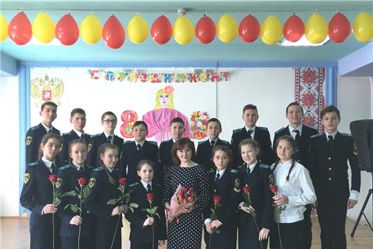 В канун самого прекрасного и замечательного праздника в Чувашско-Сорминской школе прошло мероприятие «Женский праздник – значит весна!»